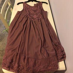 Pink Lace Altard State Dress